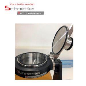 Optional: Modifizierter Wasserbehälter und Deckel mit Spezialdichtungssatz Prüffläche 100 cm²